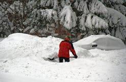 Утро зимы в Монреале стоковое фото