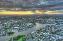 утро золота свободного полета Австралии предыдущее Стоковая Фотография RF