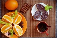 Утро здоровый завтрак Стоковое Изображение RF