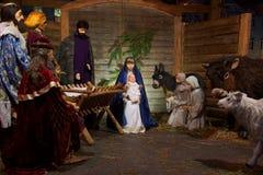 Утро и рождество рождества на квадрате собора Стоковые Фото