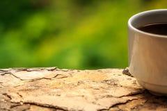 утро кофейной чашки стоковые изображения rf