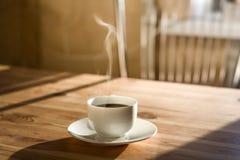 утро кофейной чашки Стоковые Фото