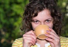 утро кофе Стоковая Фотография RF