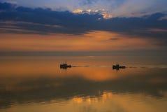 утро мирное стоковое фото