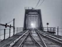 Утро Миссури туманное Стоковая Фотография