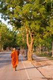 утро монаха Стоковые Фото