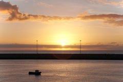 Утро над океаном E Стоковое Изображение