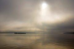 Утро на Дунае Стоковая Фотография RF