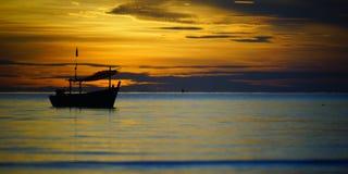 Утро на море Стоковые Изображения