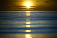 Утро на море Стоковое Изображение RF