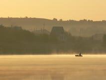 Утро на озере стоковые фото