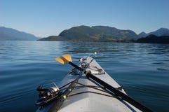 Утро на озере Harrison Стоковая Фотография RF