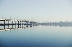 Утро на реке Стоковые Изображения RF