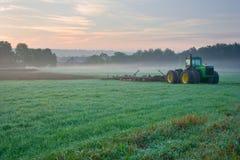 Утро на ферме Стоковое Изображение RF