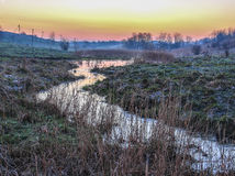 Утро на The Creek Стоковое фото RF