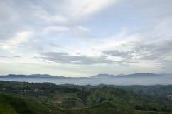Утро на Panyaweuyan Стоковое Изображение