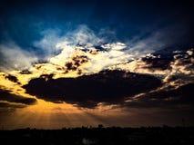 Утро неба Стоковые Фото