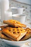 утро печений кофе Стоковые Изображения
