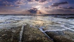 Утро пляжа Стоковые Изображения