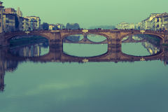 Утро Флоренса наводит синь Стоковое Фото