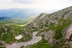 Утро Черногории в известняках Стоковое Изображение