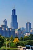 утро chicago светлое Стоковые Изображения