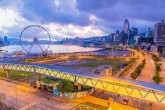 утро Hong Kong Стоковые Фото