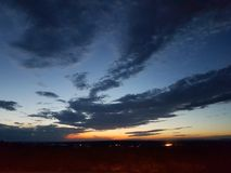 Утро Mainstockheim стоковое изображение