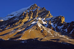 утро nepalese ландшафта рисуночный Стоковое фото RF