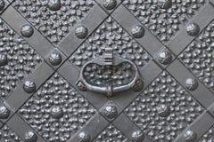 утюг двери старый стоковая фотография rf