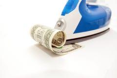 утюг доллара вниз Стоковые Фото
