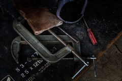 утюг инструмента Стоковая Фотография