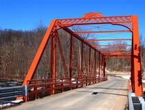 утюг моста нанесённый стоковое фото