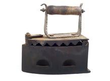 утюг угля старый Стоковая Фотография RF