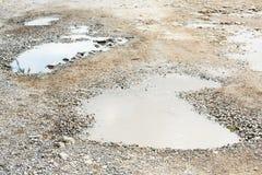 ухабистая дорога Стоковая Фотография RF