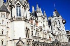 ухаживает правосудие королевское Стоковые Изображения