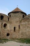 Ухаживайте башню внутри цитадели старой крепости Akkerman turkish Стоковое Изображение