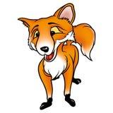 ухищренная лисица Стоковые Фото