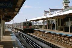 уходит l поезд Стоковые Изображения RF