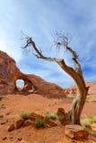 Ухо ветра, долина памятника Стоковое Изображение