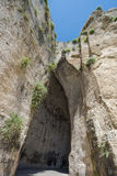 Ухо пещеры Dionysius в Syracue, Сицилии стоковая фотография
