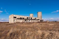 ухудшение здания промышленное Стоковое фото RF