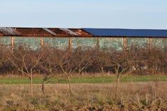 Ухудшенная крыша стоковая фотография rf