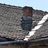 Ухудшенная крыша стоковые фотографии rf