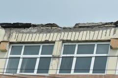 Ухудшенная крыша стоковая фотография