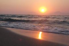 дух моря ветрила приключения вниз Стоковые Фотографии RF