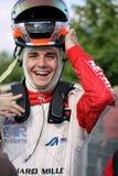 участвовать в гонке автомобиля eurof3 jules bianchi Стоковое фото RF