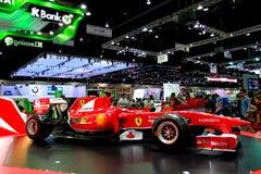 участвовать в гонке автомобиля f1 ferrari Стоковая Фотография RF