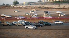 участвовать в гонке верблюда Стоковое Фото