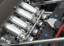 участвовать в гонке двигателя детали автомобиля стоковая фотография rf